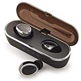 BKA Sound Master Upgraded Wireless Earbuds Bluetooth True Wireless Earbuds Headphones Earbuds HiFi Stereo 5.0 Bluetooth Wireless Earphones in Ear Bluetooth Earbuds with Microphone – Black