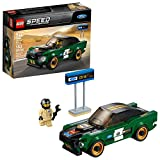 LEGO Speed Champions 1968 Ford Mustang Fastback 75884 Building Kit (183 Pieces)