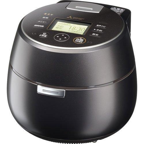 MITSUBISHI IH Jar Rice Cooker 'KAMADO' NJ-AW108-B (Black)【Japan Domestic genuine products】