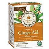 Traditional Medicinals Organic Ginger Aid Herbal Tea - 16 Tea Bags