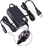 LotFancy 24V 2A Scooter Battery Charger, for Razor E300, E200, E100, E125, E150, PR200, E225S, E325S, E175, E500, CC2420 Electric Scooter, MX350 Dirt Bike, Pocket Mod, UL Listed, Fast Charge