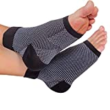 Plantar Fasciitis Compression sleeves - Better than Night Splint Socks, Shoe, Insoles, Inserts & Orthotics for Foot, Ankle Pain Relief for men, women, nurses, maternity, pregnancy, running & heel spur
