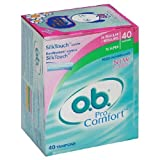 o.b. Pro Comfort Tampons, Multi-Pack, 40-Count Packages (Pack of 3)