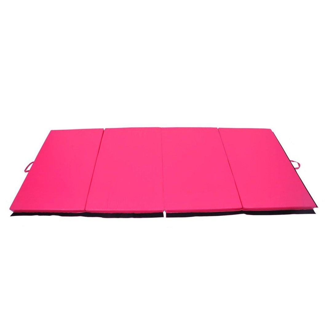 "Tenive 4'X 6'X 2"" Pu Leather Gymnastic Exercise Mat"
