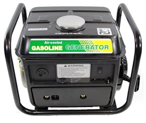 Shop4Omni Portable Two Stroke 1200 Watt Air-Cooled Gasoline Generator