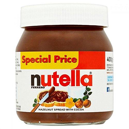51cSz AvI5L - Nutella Ferrero Hazelnut Spread with Cocoa, 400g