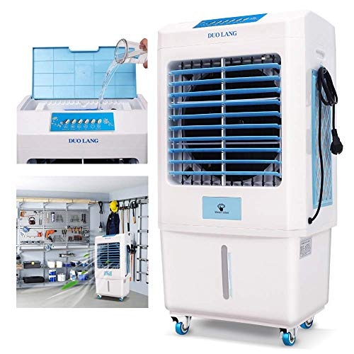 DUOLANG-2059-CFM-Outdoor-Indoor-Portable-Evaporative-Cooler-Swamp-Cooler-with-Tower-Fan-Air-Conditioner-HumidifierBlower-for-323-Square-Foot-DL-C3500