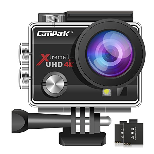 Campark ACT74 Action Camera 16MP 4K WiFi Waterproof Sports Cam 170 Degree...