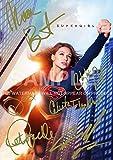 "Supergirl TV Show Print Melissa Benoist, Chyler Leigh, Calista Flockhart, Peter Facinelli (11.7"" x 8.3"")"