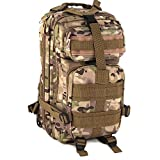 Backpack Bag for Travel Military Outdoor Motorcycle Riding Camping Hiking Hunting Fishing Trekking 30L (camo)