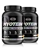 Myotein Premium Protein (French Vanilla) 2 Pack - Best Whey Protein Powder / Shake - Hydrolysate, Isolate, Concentrate & Micellar Casein
