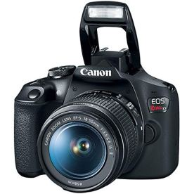 Canon-EOS-Rebel-T7-DSLR-Camera-with-EF-18-55mm-with-EF-75-300mm-Double-Zoom-Kit-Bundle-with-500mm-Preset-Telephoto-Lens-32GB-Memory-Card-Tripod-Paintshop-Pro-2018-and-Accessories-10-Items