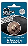 Cold Storage Coin - Bitcoin - 1AV Once 999 Fine Copper with Embedded Cold Cryptocurrency Storage