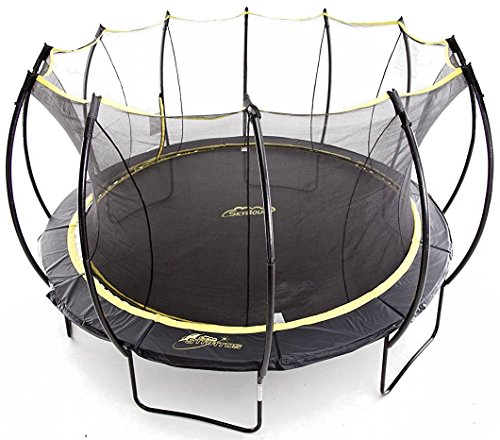 SkyBound Stratos Trampoline with Full Enclosure Net System, 14'