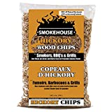 Smokehouse Products All Natural Flavored Wood Smoking Chips - Hickory