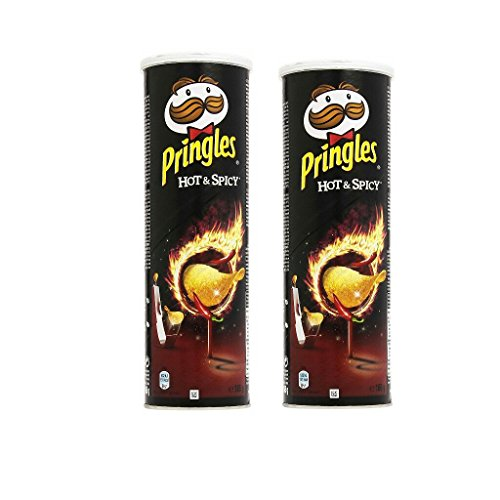 51cbIXpmnRL - Pringles Hot & Spicy Chips - 165g (Pack of 2)