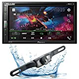 Pioneer AVH-310EX Double-DIN 6.8-inch In-dash Car DVD Receiver with Built-in Bluetooth Streaming with HD 95BK Backup Camera