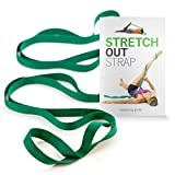 The Original Stretch Out Strap with Exercise Book by OPTP - Top Choice of Physical Therapists & Athletic Trainers