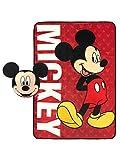 Nogginz Pillow & Plush Blanket Set Disney Mickey Mouse