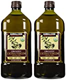 Kirkland Signature 2 x Organic Extra Virgin Olive Oil, 2 Liters