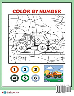 Preschool Printables Color By Number 20 Printable Color By Number Worksheets For Preschool Kindergarten Children The Price Of This Book Includes 12 Printable Pdf Kindergarten Preschool Workbooks By Manning James Manning Christabelle Workbooks