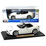 Maisto Year 2015 Special Edition Series 1:18 Scale Die Cast Car Set - White Color Grand Touring Sports Coupe FERRARI CALIFORNIA T (Dimension: 9 x 4 x 2-1/2) by Maisto