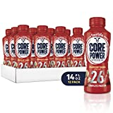 Core Power fairlife Core Power High Protein Milk Shake, Strawberry banana, 14 Ounce (Pack of 12)
