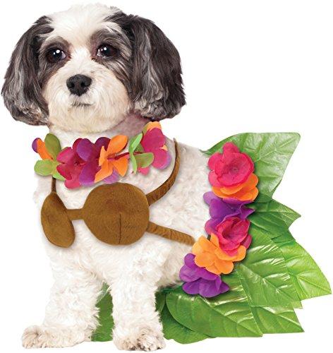 Rubie's Hawaiian Hula Girl Pet Costume, Small