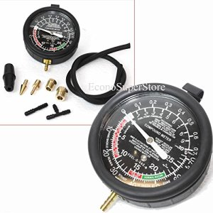 Fuel Pump & Vacuum Gauge Pressure Tester Test Both Mechanical & Electrical Fuel