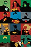 "Trends International Justice League Minimalist Wall Poster 22.375"" x 34"""