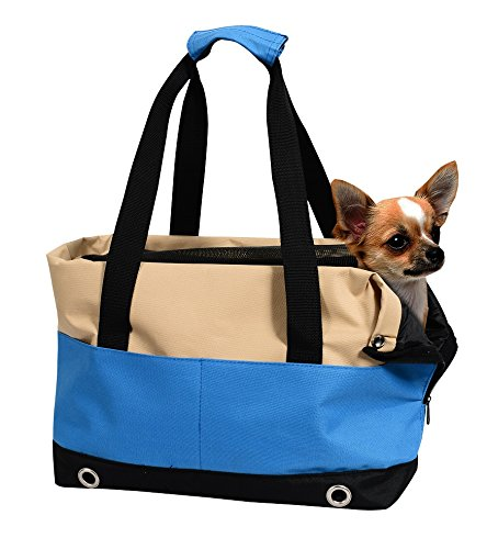 Jespet Portable Dog Tote Bag Purse Handbag for Small Pet Travel & Shopping & Outdoor Carrier