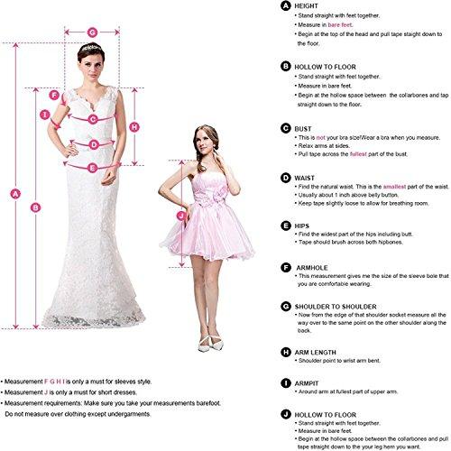 LastBridal Women Satin V Neck 2 Pieces Prom Dresses 2018 Long Formal ...