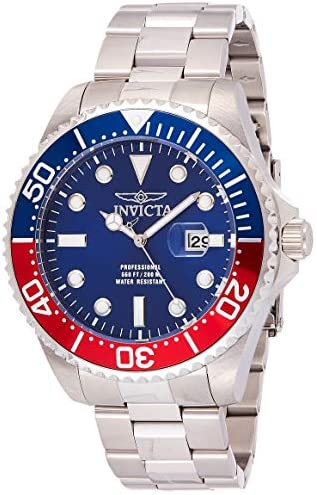 Invicta Men's Pro Diver Quartz Diving Watch with Stainless-Steel Strap, Silver, 22 (Model: 22823) 1