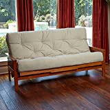New Replacement Futon Mattress Solid Cover 9 layer Factory Direct Full/Queen Made in the USA