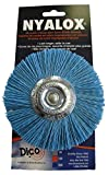 Dico Products 7200042 Nylox Wheel Brush 4' 240 Grit, Blue