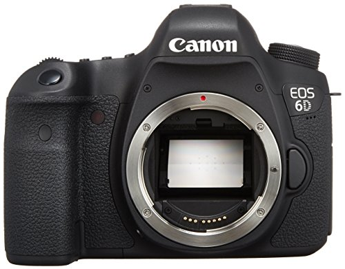 Canon EOS 6D 20.2 MP CMOS Digital SLR Camera with 3.0-Inch LCD (Body Only) – Wi-Fi Enabled – International Version (No warranty)