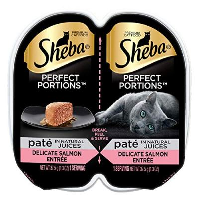 Sheba Perfect Portions Pate Wet Cat Food Trays – Seafood