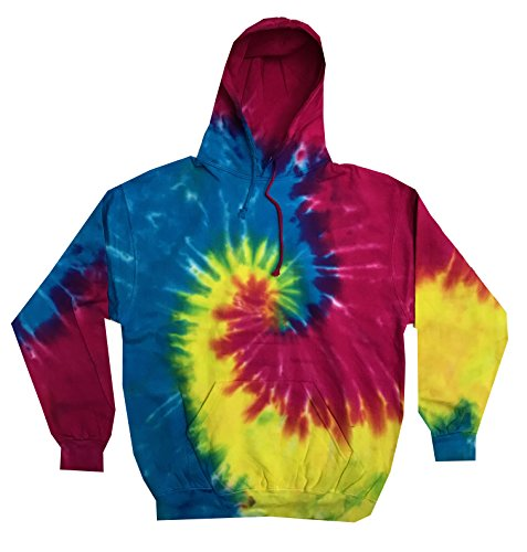 Colortone Youth & Adult Tie Dye Pullover Hoodie 1 Fashion Online Shop Gifts for her Gifts for him womens full figure