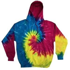 Colortone Youth & Adult Tie Dye Pullover Hoodie 26 Fashion Online Shop gifts for her gifts for him womens full figure