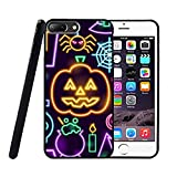 COOLMPC Pumpkin Grave Spider Skull Pattern Design Printed iPhone 6 / 6s Plus Hard Case Protective Back Cover