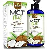 MAJU's MCT Oil - Premium C8 & C10 Fatty Acids, ZERO Aftertaste, 100% Coconut, Coffee Friendly, Non-GMO