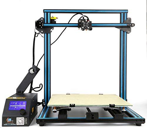 3D Printer Creality CR-10S 500 Blue 3D Printer 500×500×500mm Large Building Volume 0.05mm Cura PLA Free Filament & Tool Box