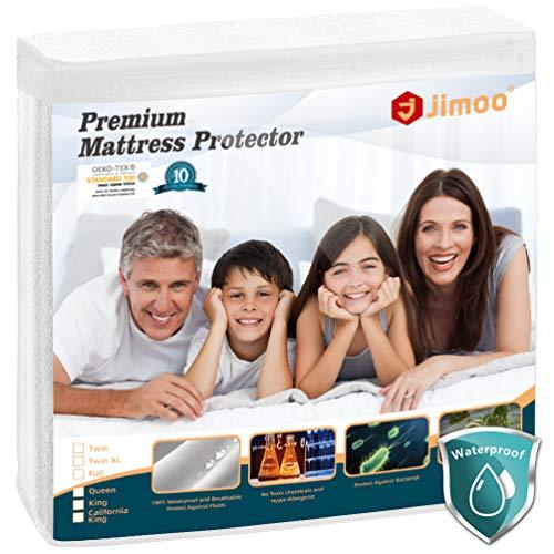 J JIMOO King Size Premium Waterproof Mattress Protector