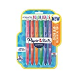 Paper Mate Clearpoint Color Lead Mechanical Pencils, 0.7mm, Assorted Colors, 6 Count - 1984678