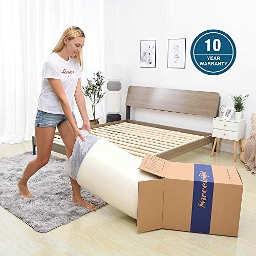 Sweetnight 12 Inch Queen Size Mattress, Queen Size Bed In A Box