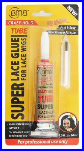 [BMB] Super Lace Glue for Lace Front Wigs Crazy Hold Tube 1.0 fl.oz