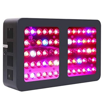 iPower GLLEDXA300CNEW 300W LED Grow Light Full Spectrum for Indoor Plants Veg and Flower