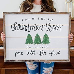 Sweet-Water-Decor-Farm-Fresh-Christmas-Trees-Shiplap-Wood-Sign-18x24-Rustic-Holiday-Decor-Farmhouse-Barn-Cottage-Living-Room-Tree-Wall-Art-Signs-Vintage-Wooden-Saying-Country-Plaque-Decoration-Farms