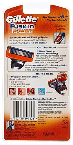 Gillette Fusion Power Shaving Razor 18
