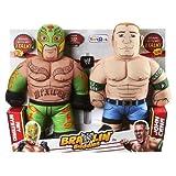 Exclusive WWE Brawlin Buddies 2 Pack - John Cena and Rey Mysterio